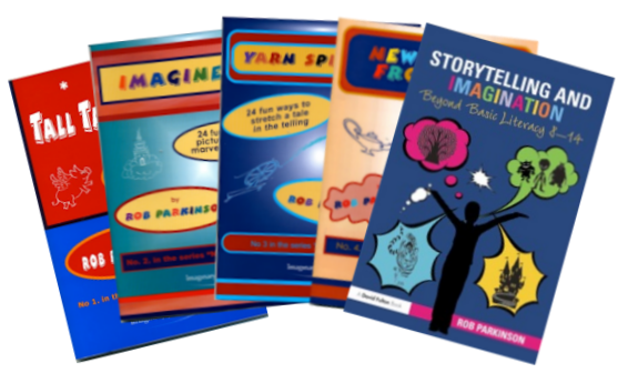Storytelling and Imagination and all 4 Natural Storytellers booklets