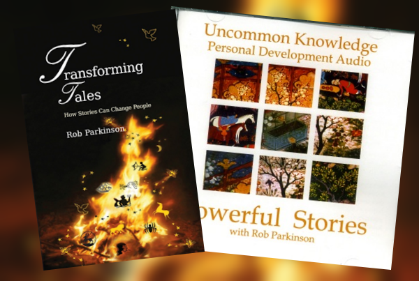 Transforming Tales (book) and Powerful Stories (double CD)